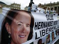 El presidente colombiano dice que la periodista española Salud Hernández está con el ELN