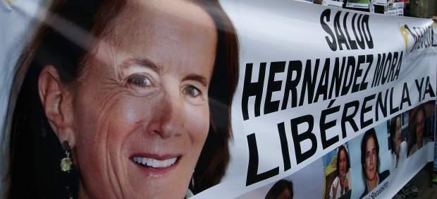 Liberan en Colombia a la periodista española Salud Hernández