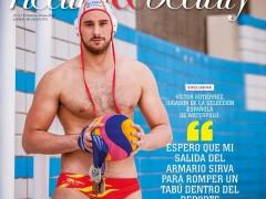 El waterpolista de la selección Víctor Gutiérrez sale públicamente del armario