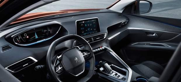 Interior del Peugeot 3008