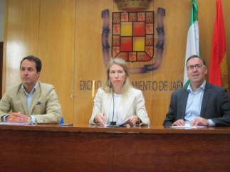 Los tres concejales no adscritos en el Ayuntamiento de Jaén