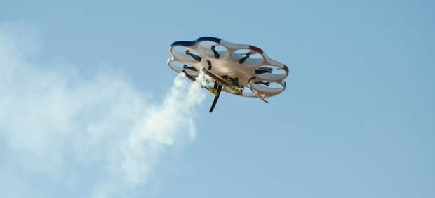Llega el dron que 'siembra' nubes para provocar lluvia