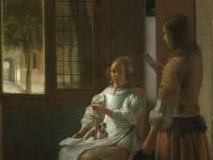 Un 'iPhone' en un cuadro de 1670