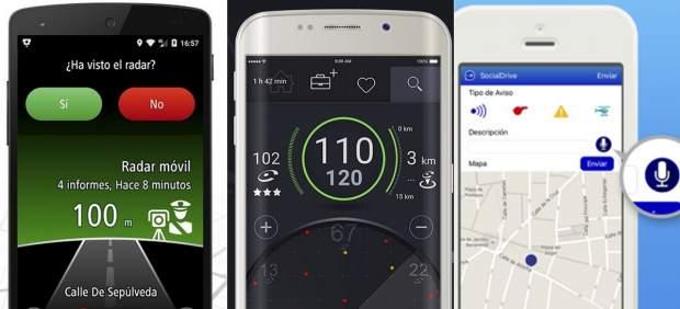 Los avisadores de radar más descargados en móviles para librarse de multas