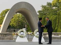 "Obama, en Hiroshima: ""Continuemos sin armas nucleares"""