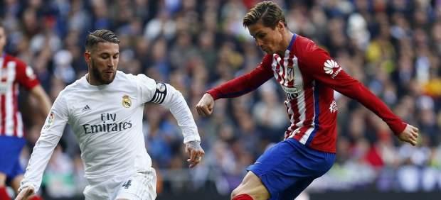 Sergio Ramos y Fernando Torres