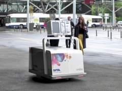Leo, el robot que recoge tus maletas en el aeropuerto