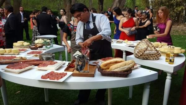 Promoción del jamón ibérico de Belloterra en México