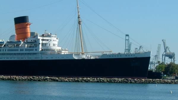 El Queen Mary de Long Beach, uno de los lugares con más ...