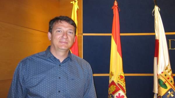 El alcalde de Ricla, Ignacio Gutiérrez (PSOE)