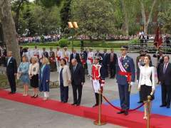 Vítores al rey y abucheos a Carmena en las Fuerzas Armadas