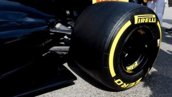Nuevo neumático de Fórmula 1