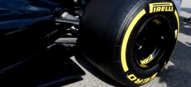 Pirelli presenta los neumáticos de Fórmula 1, un 25% más anchos, para la próxima temporada