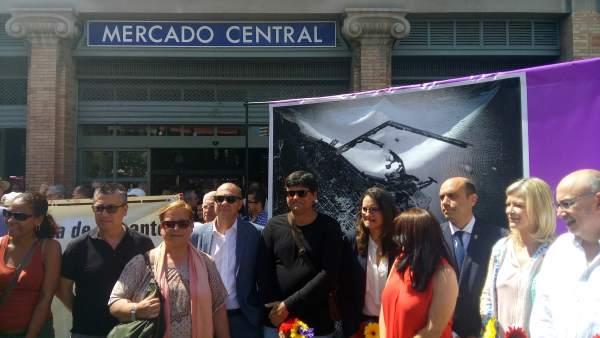 Oltra en un acto en Alicante