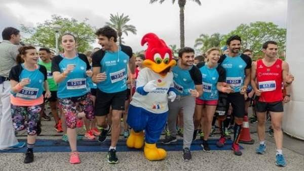 Carrera de la Fundación PortAventura por la Associació Down Tarragona