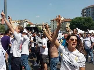 Fanzone del Real Madrid