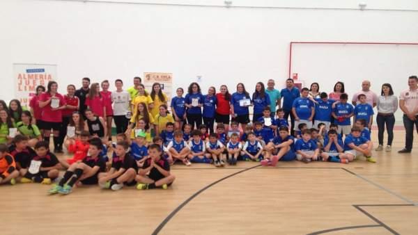 Juegos Deportivos Provinciales de fútbol sala en Almería