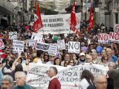 Miles de personas piden en las Marchas de la Dignidad en Madrid