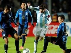 Messi en el amistoso ante Honduras