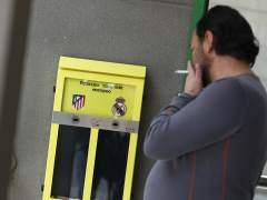Las urnas-cenicero instaladas en Madrid dan la victoria al Atleti en Champions