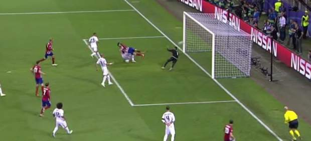 Así ha sido el gol de Yannick Carrasco que puso el 1-1 en la final de Champions 2016