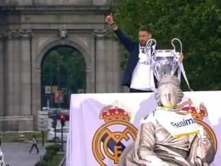 Ramos ofrece la Undécima a Cibeles