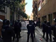 """Los Mossos afirman que muchos """"violentos"""" de los disturbios de Gràcia no son del barrio"""