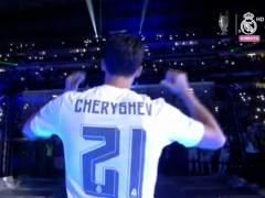 Arbeloa protagoniza el momentazo en el Bernabéu al vestirse de Cheryshev