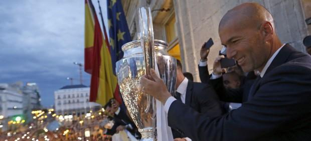 Zidane da con la llave del éxito… y del futuro