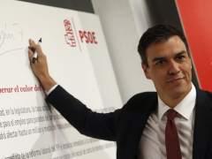 Sánchez se someterá a la moción de confianza si es presidente