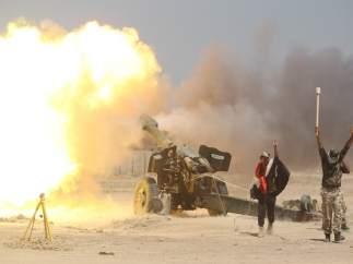Ofensiva de las fuerzas iraquíes para recuperar Faluya