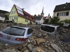 Al menos tres muertos en inundaciones en el sur de Alemania
