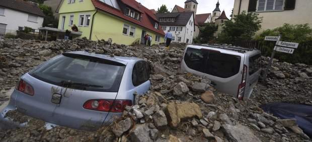 Al menos tres muertos en inundaciones por el temporal que sacude el sur de Alemania