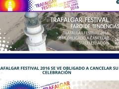 Web del Trafalgar Festival