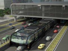 'Transit Elevated Bus', el autobús que evitará los atascos