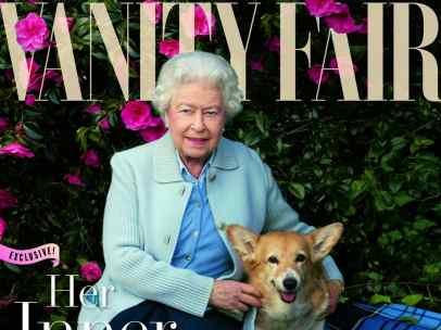 Isabel II en la portada de 'Vanity Fair'