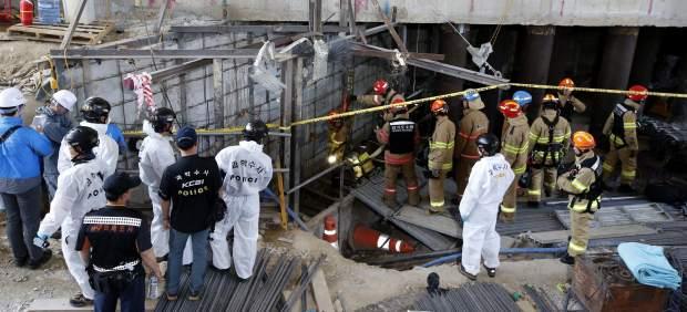 Una explosión en las obras del metro de Seúl deja al menos cuatro muertos y diez heridos