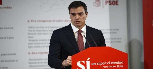 Sánchez promete un ingreso mínimo vital de 426 euros en su primer año de mandato