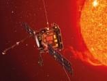 Recreación artística del satélite Solar Orbiter