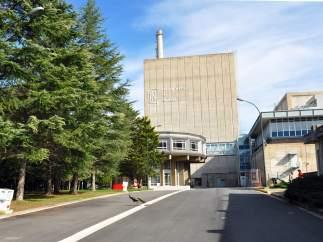 Entrada de la central nuclear de Garoña