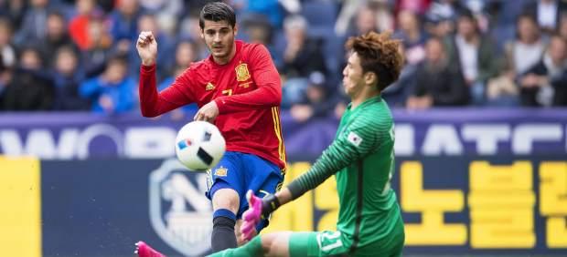 """Morata: """"¿A quién no le puede gustar estar en el Real Madrid?"""""""