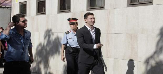 Leo Messi comparece este jueves en el juicio por presunto fraude fiscal