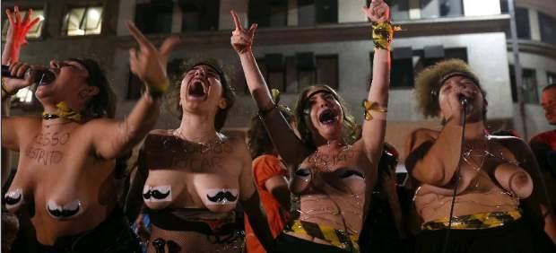 """""""No fue una orgía"""": brasileñas dicen basta a la """"cultura de la violación"""""""