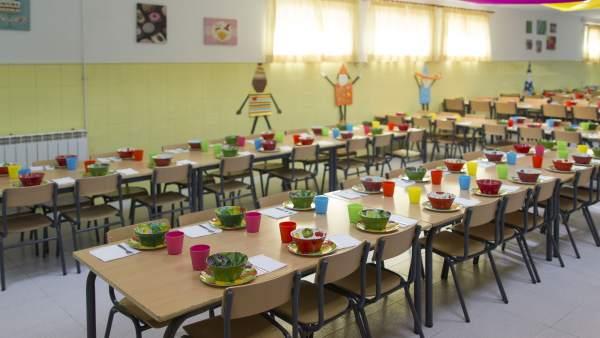 Las familias aragonesas pueden solicitar las ayudas de comedor y ...