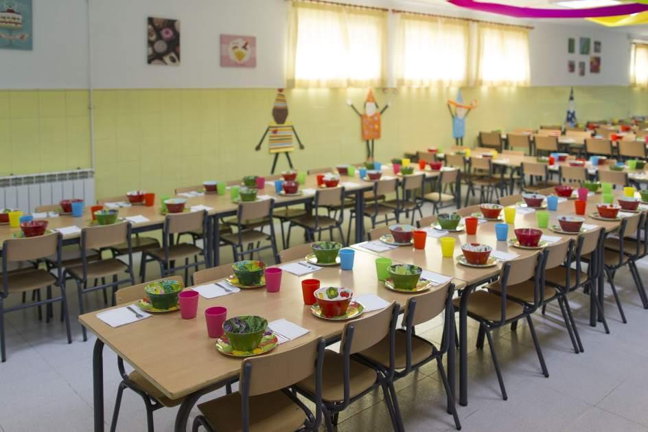 las familias aragonesas pueden solicitar las ayudas de comedor y