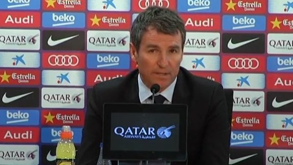 "Robert: ""Alves ya nos ha comunicado que se va"""