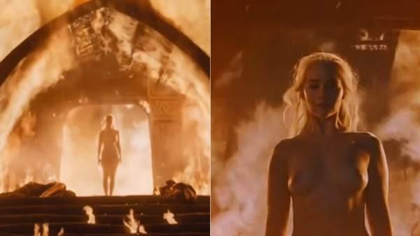 Emilia Clarke Y El Vodka Su Gran Aliado Para Sus Desnudos Dentro Y