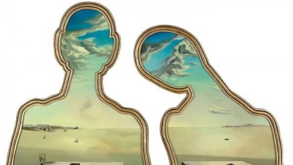 Salvador DALI (1904-1989) - Couple aux têtes pleines de nuages [Couple with their Heads Full of Clouds], 1936