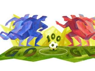 Homenaje de Google a la Copa América