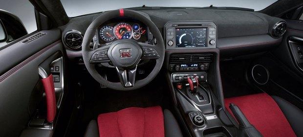 Interior del Nissan GT-R Nismo